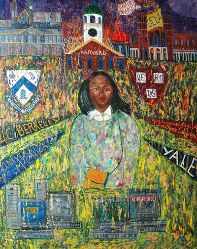 Pacita Abad, 'How Mali lost her accent', 1991