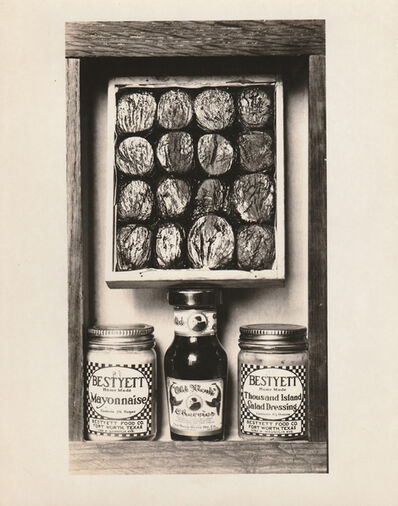 Anonymous, 'Homage to Joseph Cornell (Old Monk Cherries / Post's Bran Flakes)', ca. 1940