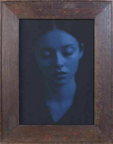 Jefferson Hayman, 'Alina (Blue Portrait)'