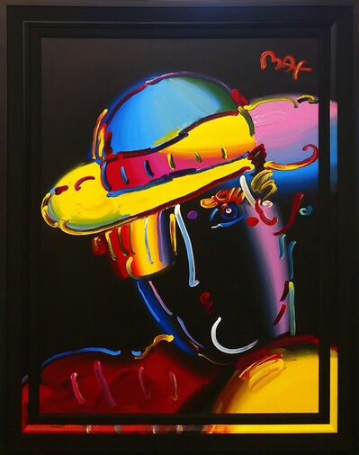 Peter Max, 'ZERO IN SPECTRUM I (BLACK) VER. I #10', 2003