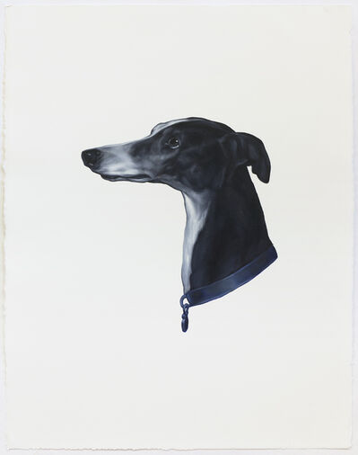 Shelley Reed, 'Dog (After Landseer)', 2020