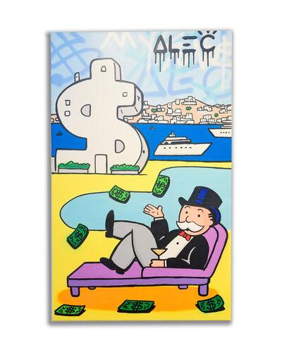 Alec Monopoly, 'Monopoly Poolside $antorini ', 2019