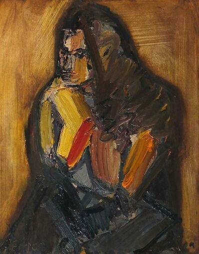 Richard Fitton, 'Nat seated Semi Nude'