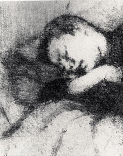 Celia Paul, 'Linda Sleeping', 1992