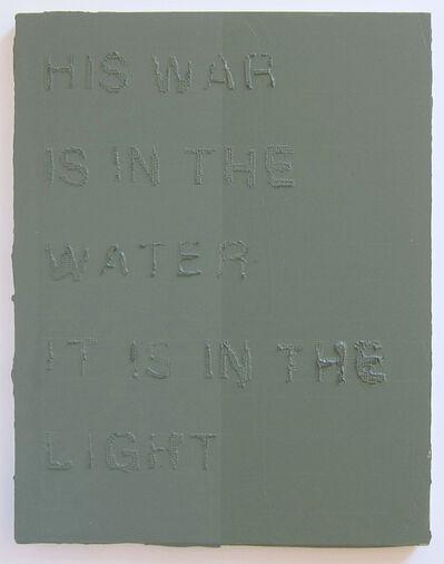 Duane Slick, 'Water Water Light', 2016