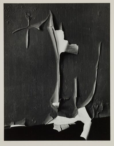 Minor White, 'Peeled Paint, Rochester, New York', 1959-printed circa 1975