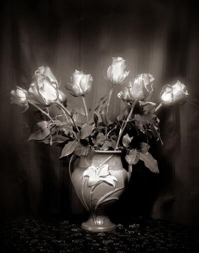 Leslie Hanes, 'Roses in Lily Vase ', 2018