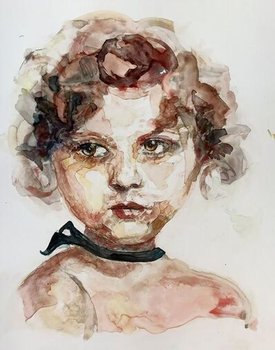 """Patty Rooney, '""""Any star can be devoured by human adoration, sparkle by sparkle."""" -- Shirley Temple', 2017"""