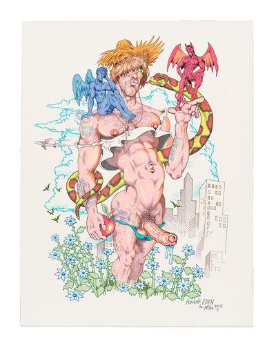 Mike Kuchar, 'Adam's Eden', 2015