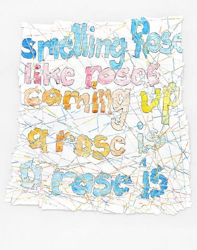 Roni Horn, 'Th Rose Prblm', 2015-2016