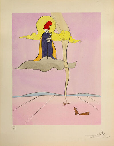 Salvador Dalí, 'Jugoye. From the series Japanese fairy tales', 1995