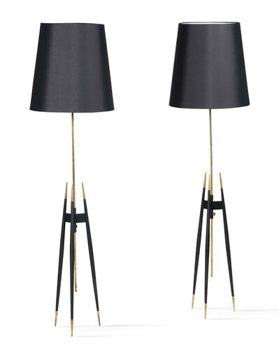 Svend Aage Holm Sørensen, 'Pair of floor lamps', Circa 1960