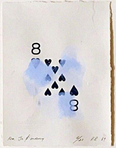 Robert Petersen, 'Eight of Hearts', 1989