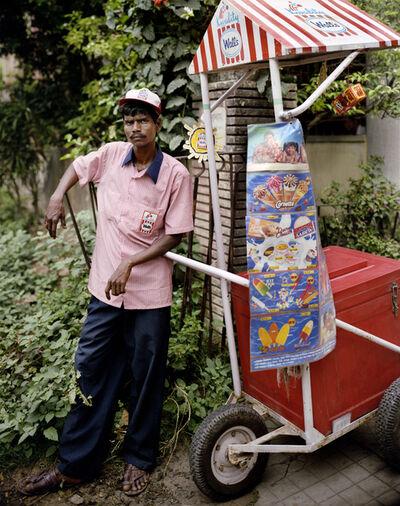 Laura McPhee, 'Ganesh Das, Ice Cream Man, Jodhpur Park, Kolkata', 1998