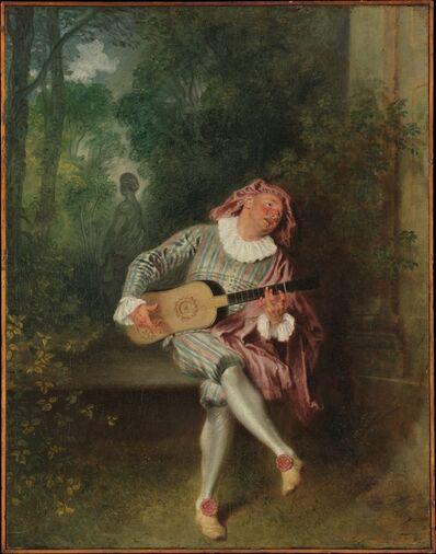 Jean-Antoine Watteau, 'Mezzetin', ca. 1718–1720