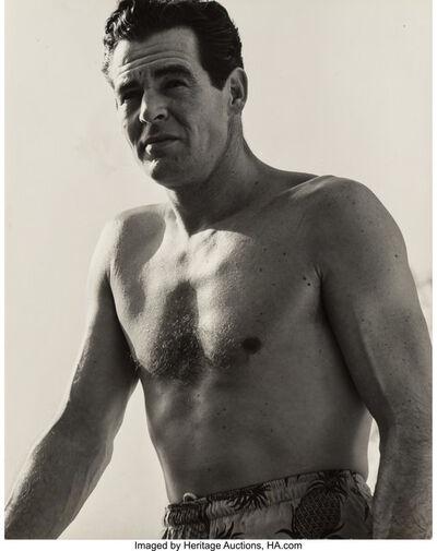 Lou Stoumen, 'Robert Ryan, Los Angeles, California (Two works)', circa 1948-printed later