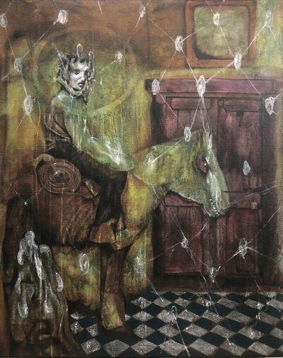 Rodel Tapaya, 'Soaked in Sweat', 2019