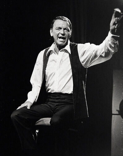 Murray Garrett, 'A relaxed Sinatra could still wail, getting it on during his NBC TV Special', ca. 1965/68