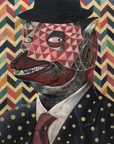Rodel Tapaya, 'Mr. Wolf', 2019