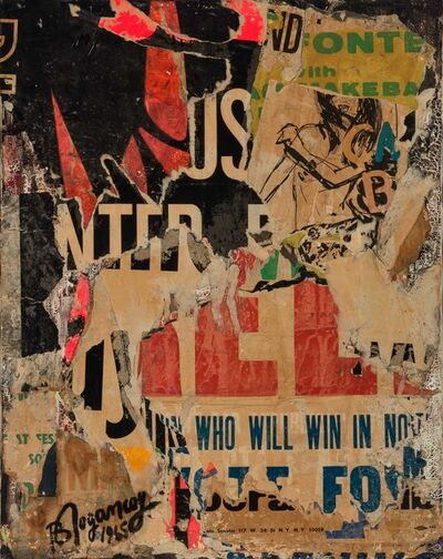 Burhan Dogançay, 'Who Will Win in November', 1965