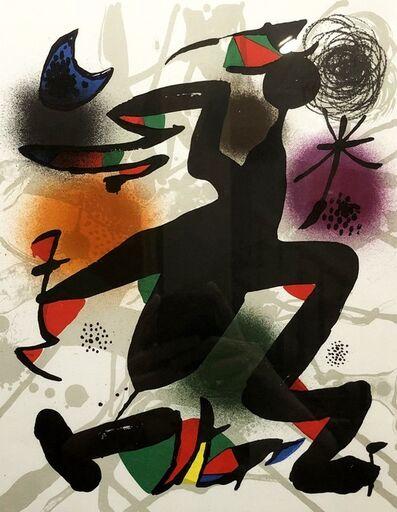 Joan Miró, 'Plate IV', 1977