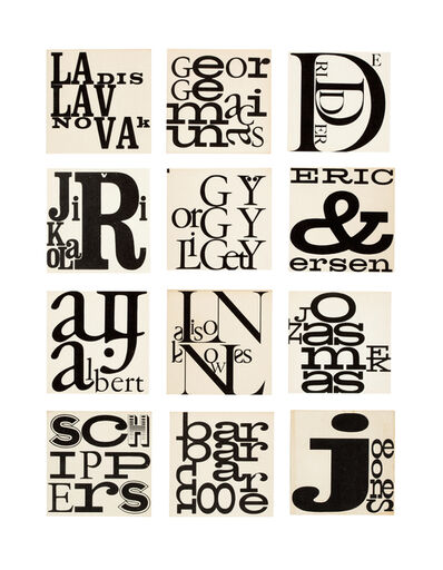 George Maciunas, 'Name card', 1964