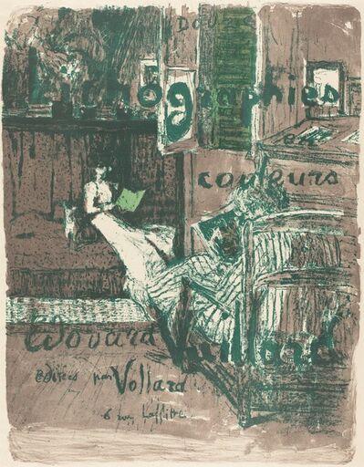 """Édouard Vuillard, 'Cover for the Album """"Paysages et intérieurs""""', 1899"""
