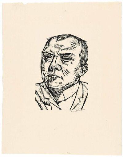 Max Beckmann, 'Selbstbildnis', 1922