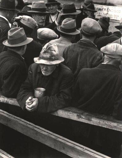 Dorothea Lange, 'White Angel Breadline, San Francisco', 1933