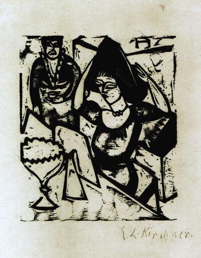 Ernst Ludwig Kirchner, 'Toilette', 1912