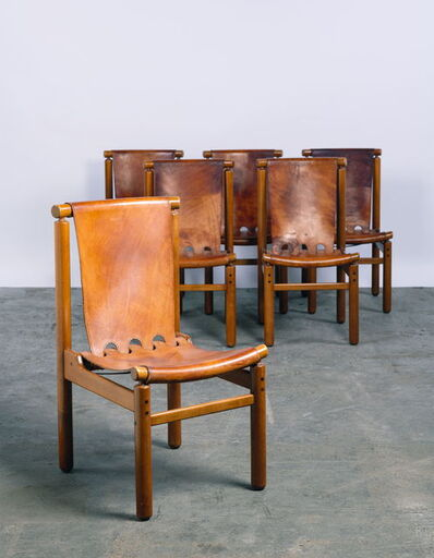 Ilmari Tapiovaara, 'Série de six chaises', vers 1955