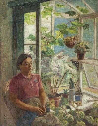 LEE Shih-Chiao 李石樵, 'Greenhouse', 1940