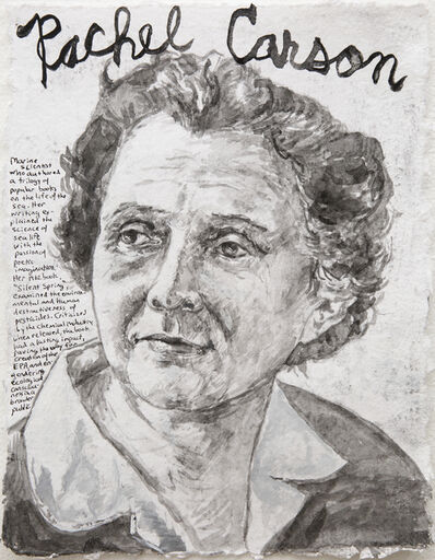 Dale Williams, 'Awareness Day Portraits - Rachel Carson', 2018