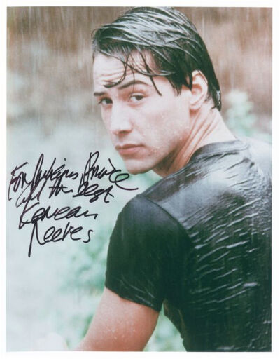 Richard Prince, 'For Richard Prince, all the best, Keanu Reeves', 2000