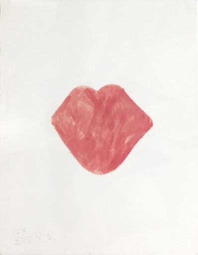 Jim Dine, 'Untitled Lips', 1968