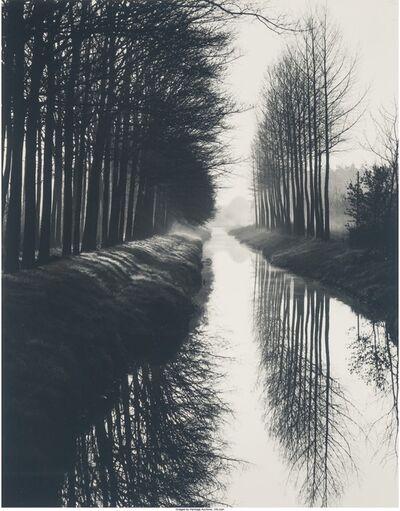 Brett Weston, 'Holland Canal', 1972
