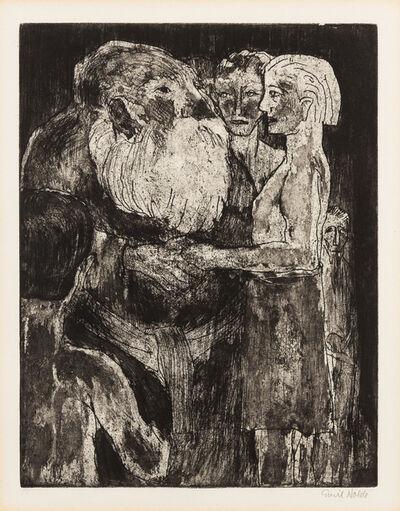 Emil Nolde, 'Wikinger (Vikings)', 1922