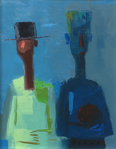 Jonathan Sobol, 'Two Pals', 2019