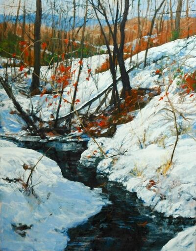 William Jameson, 'Fresh Snow in the Piedmont', 2017
