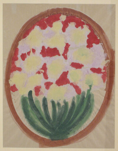 Sybil Gibson, 'Flowers in a Circle', 1993