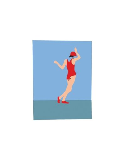 Casey Waterman, 'Swing (Small Print) ', 2018
