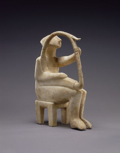 'Male Harp Player of the Early Spedos type', 2700 -2300 B.C.