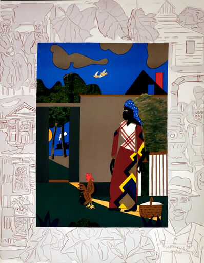 Romare Bearden, 'Pepper Jelly Lady from the Carter Presidential Portfolio', ca. 1975