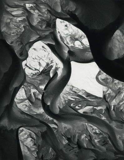 William Garnett, 'Sand Bars, Colorado River, near Needles, Ca', 1954