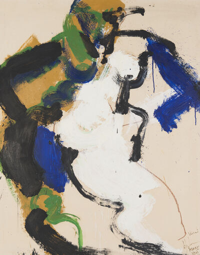 Norman Bluhm, 'Untitled (Merry Christmas, Vincent)', 1966