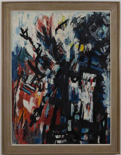 Abraham Rattner, 'Shekina-Amalek', 1960