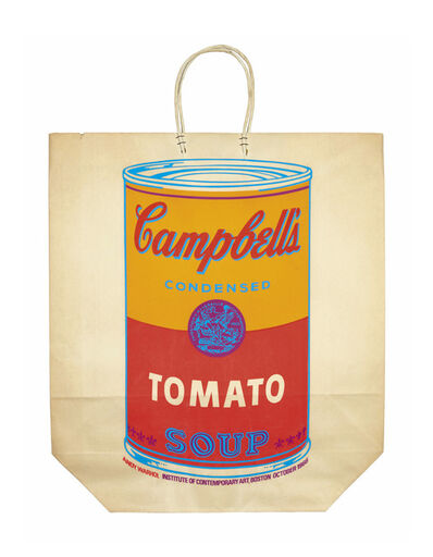 Andy Warhol, 'Campbell's Soup Can on a Shopping Bag', 1966