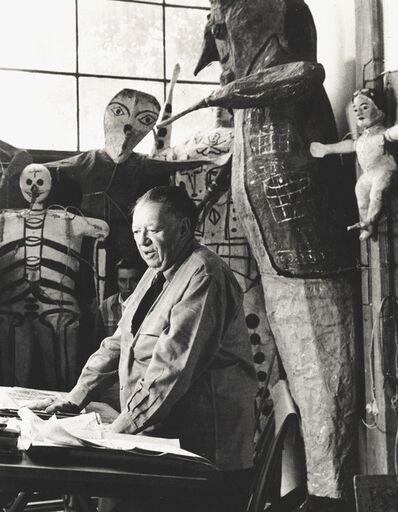 Héctor García, 'Diego Rivera', c. 1950