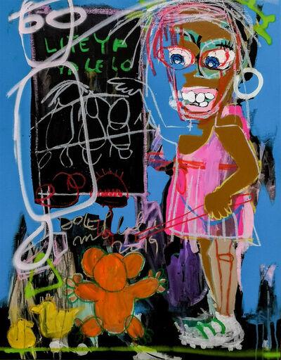 Dolet Malalu, 'Petite fille au tableau ', 2019