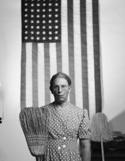 Sandro Miller, 'Gordon Parks - American Gothic, Washington D.C. (1942)', 2014